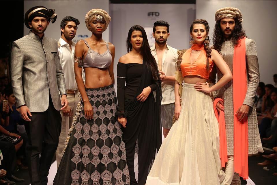 Mukti Tibrewal Finale Day 1, India runway week 2015, IRW 2015
