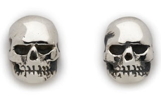 Skull Stud Earrings from The Great Frog