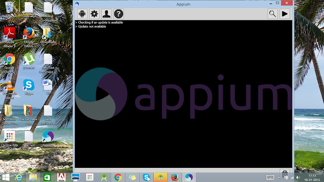 Appium Sever in Windows