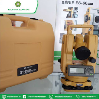 Jual Digital Theodolite Topcon DT 205L di Makassar