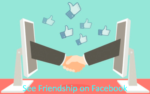 How to view friendship on facebook