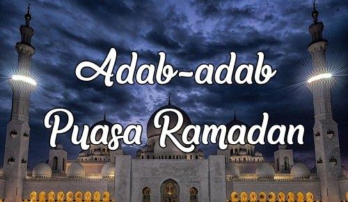adab puasa ramadan