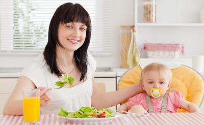 Cara Diet Sehat dan Aman Untuk Ibu Menyusui
