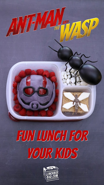 How to make an Ant-Man and The Wasp lunch for your kids!