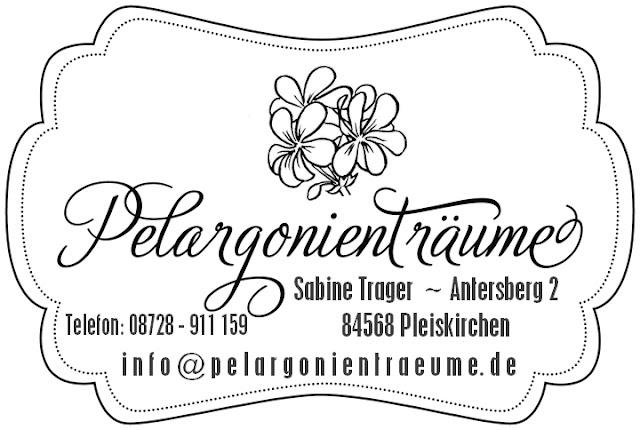 Pelargoniensammlung Pelargoniengärtnerei Pelargonien Versand