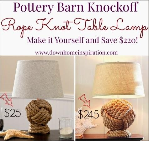 rope lamp comparison picture
