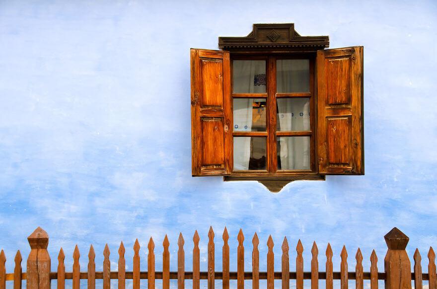 Transilvanya'da eski bir ev