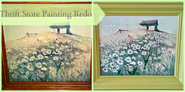 Thrift Store Painting Refresh