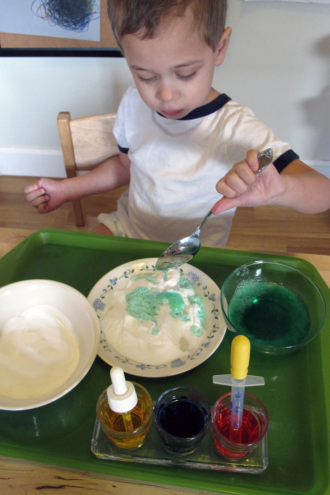 MAKE ART WITH BAKING SODA - Kids Activities
