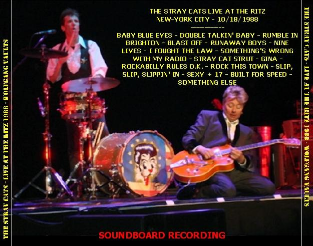 The Stray Cats Live Bootlegs