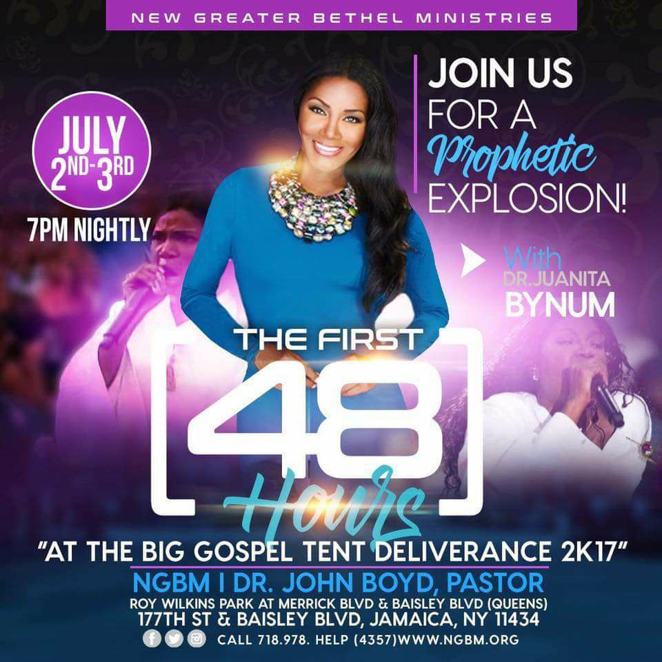After watching this clip from the Big Tent Revival last night of  sc 1 st  The Old Black Church & The Big Tent Revival With Dr. Juanita Bynum.