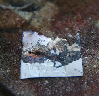 Liz Samways inkylinky etched fused silver gold landscape