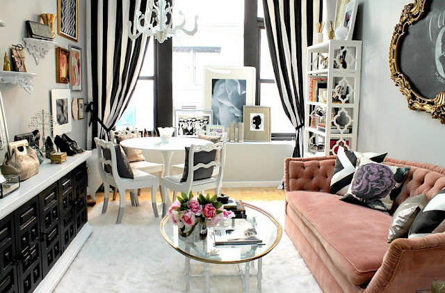 Charming Elegant Feminine Living Room Design Ideas 2016