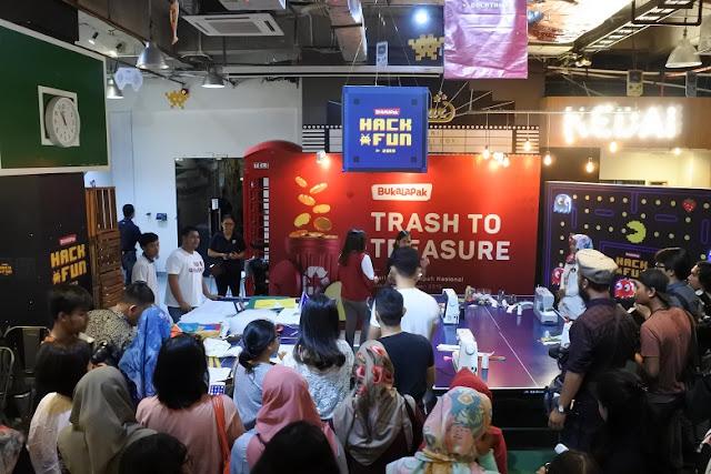 Trash to Treasure untuk Selamatkan Generasi Penerus