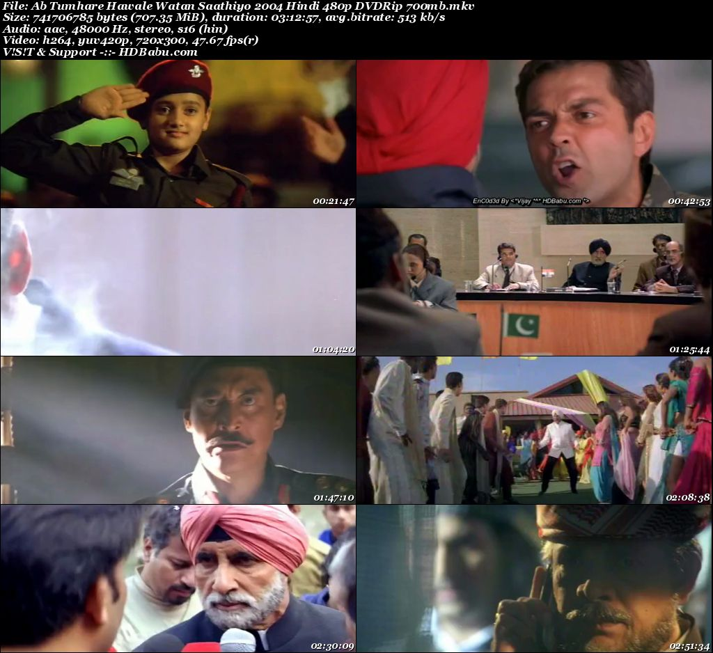 Ab Tumhare Hawale Watan Saathiyo Full Movie Download