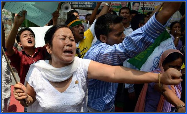 Gorkhaland Demand by Indian Gorkhas