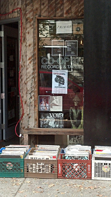Co-Op 87 Record Store Greenpoint Brooklyn