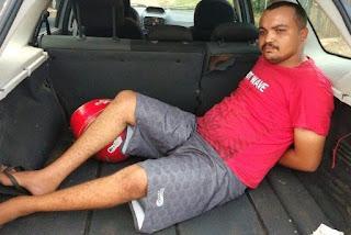 Homem é preso acusado de matar jovem a facadas em bebedeira no interior da Paraíba