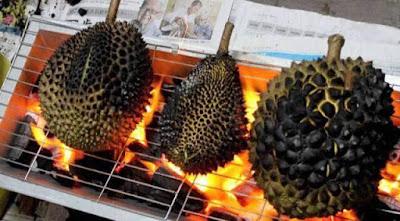 durian bakar denai borneo