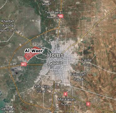 al-waer homs gencatan senjata