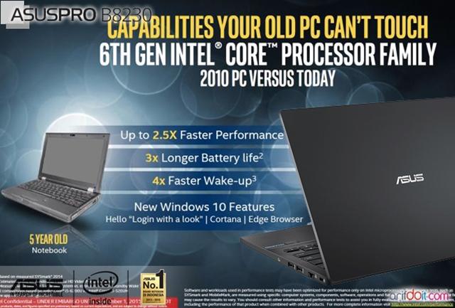Intel Skylake semakin irit dan perfomance tinggi
