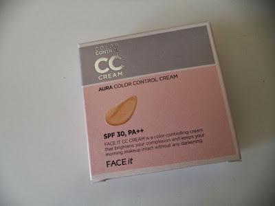 REVIEW  The Face Shop FACE it Aura CC Cream (SPF30/PA++)
