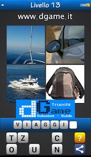 PACCHETTO 7 Soluzioni Trova la Parola - Foto Quiz con Immagini e Parole livello 13
