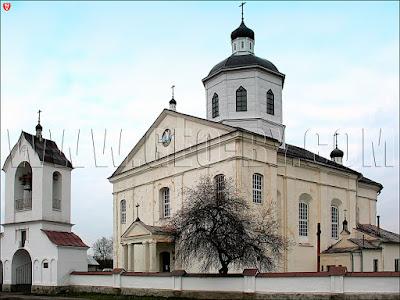 Раков. Церковь Спасо-Преображенская