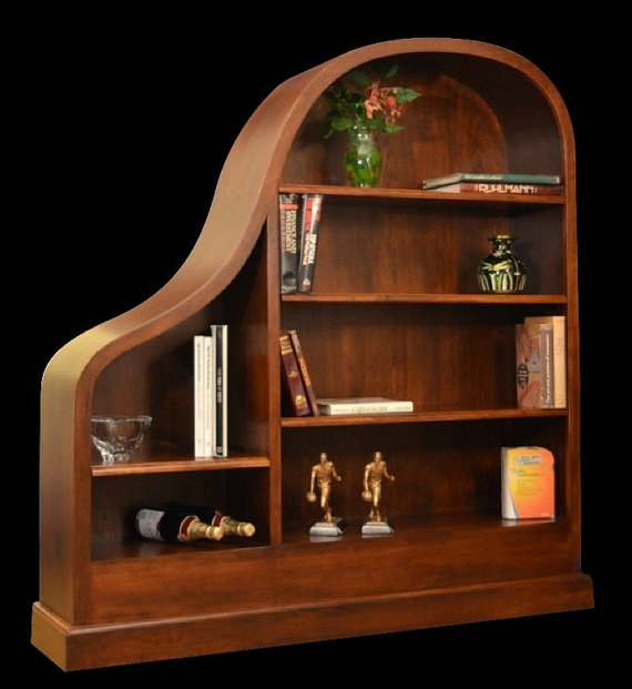 image Baby Grand Piano Bookcase