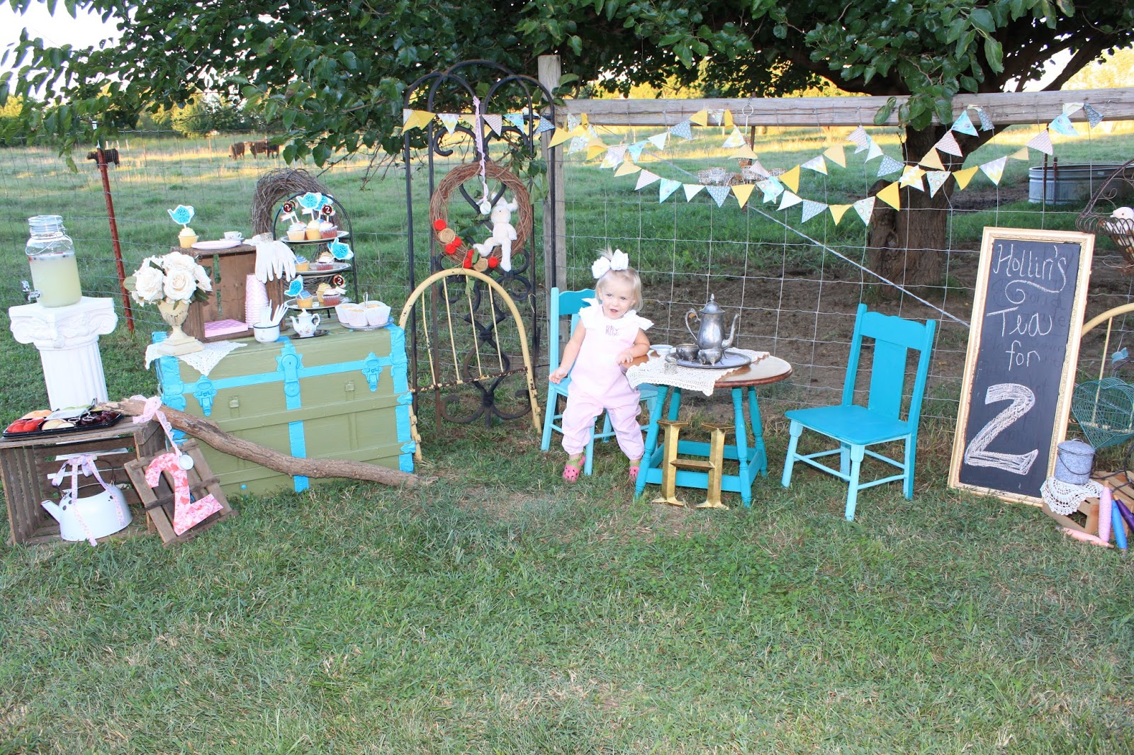 Mccash Family Blog Hollin S 2nd Tea For Two Birthday