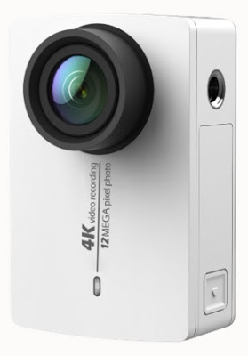 Live Vividly pada action camera Xiaomi Yi 4K