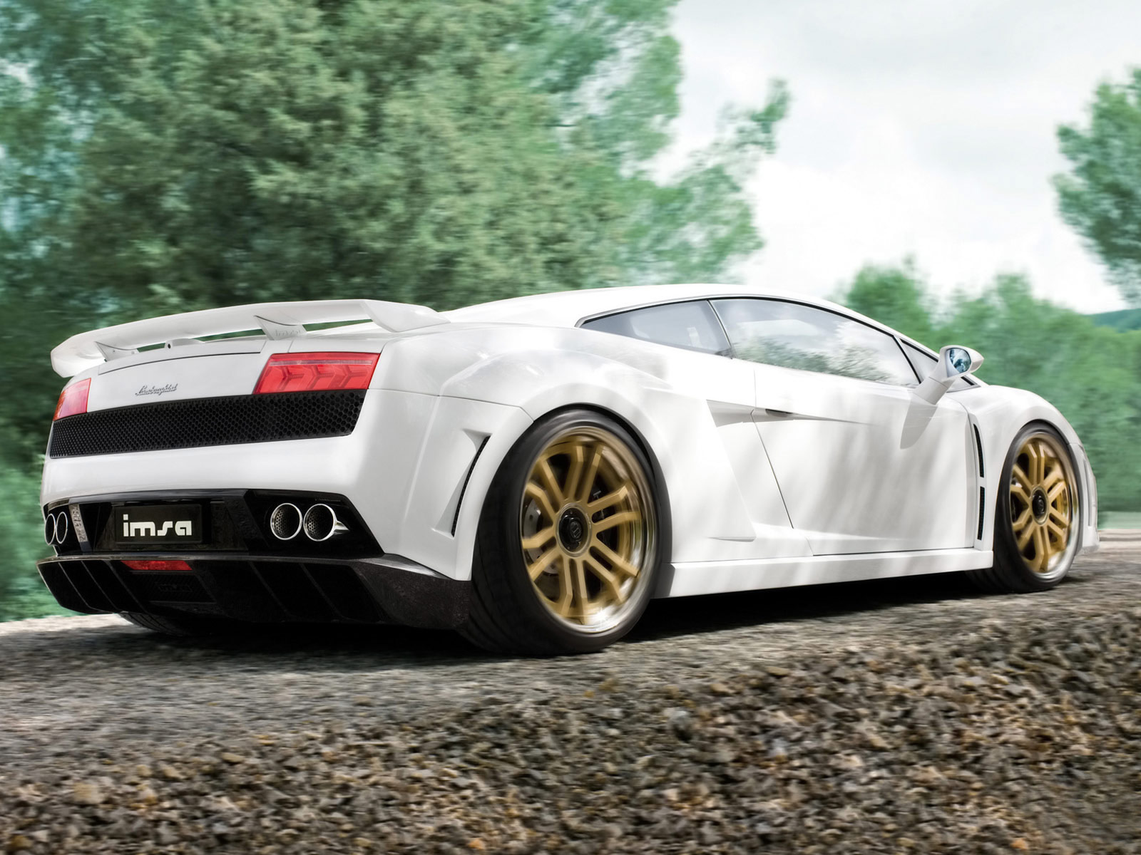 2009 LAMBORGHINI Gallardo LP560-4 IMSA GTV Wallpapers