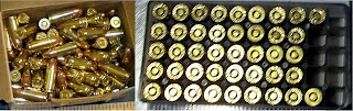 Left to Right: Ammo Discovered at SYR & CLT