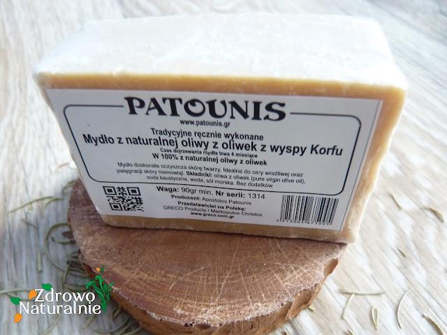 Greco Products - Mydło oliwkowe Patunis