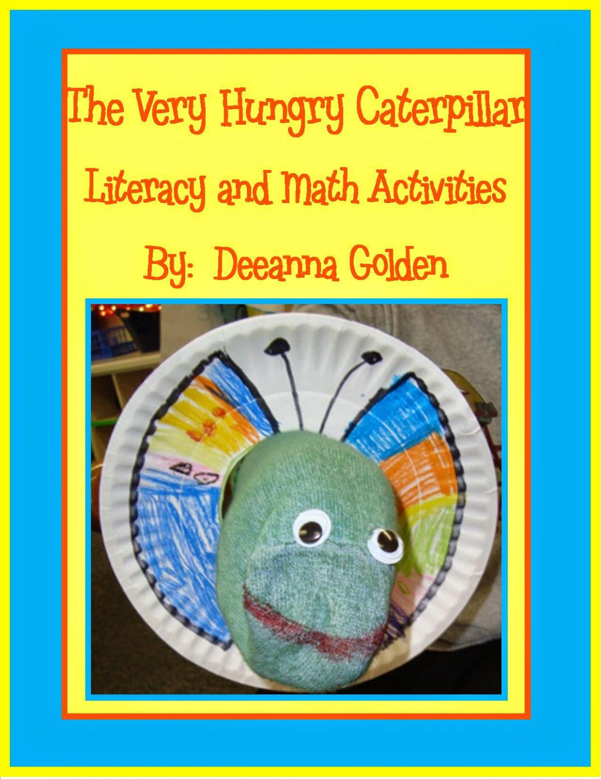 Golden Gang Kindergarten Insect Freebie