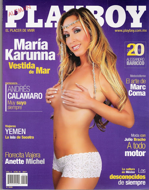 FOTOS: Maria Karunna Playboy Mexico 2006