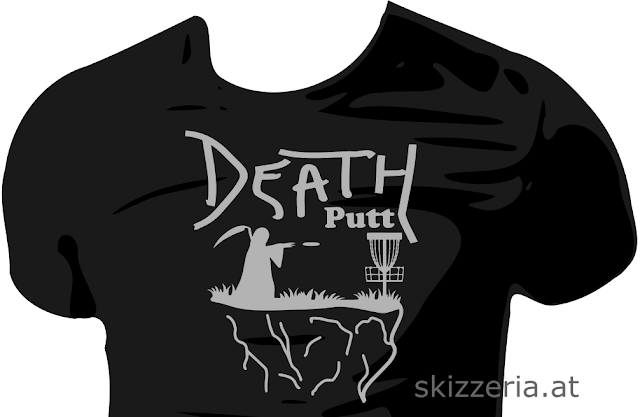 Death Putt Disc Golf Shirt