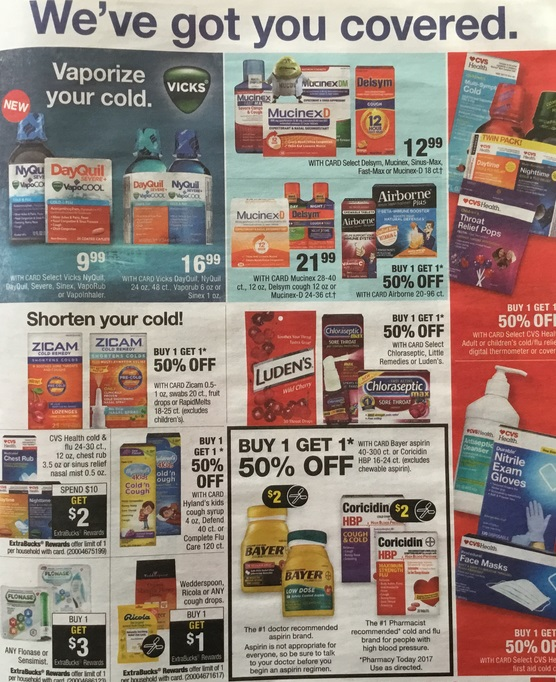 savvy shoppers save big new cvs ad
