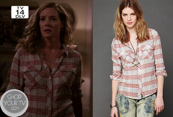 Twisted: Season 1 Episode 2 Tess' Plaid Shirt | Shop Your TV