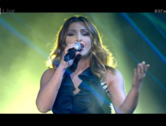 X-Factor: Ατύχημα για την Έλενα Παπαρίζου στη σκηνή -Πάτησε το φόρεμά της και… (Βίντεο)