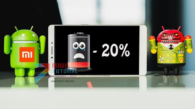 Sekalipun Ditinggal Tidur Daya Baterai Smartphone Xiaomi Kamu Tetap Hilang 20%? Coba Cara Fix Ini: Tested Mi5 PRO dan Redmi Note 4 PRO