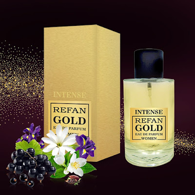 Perfume mujer Intense Refan Gold 350 100 ml