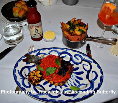 Mediterranean Branzino, Pesto Rosso with Qi Tuscan Fries