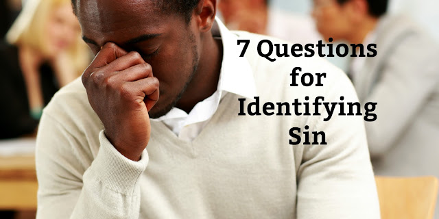 These 7 questions can help you determine is something not specifically mentioned in Scripture is a sin in your life. #Bible #GodsWord #Biblestudy