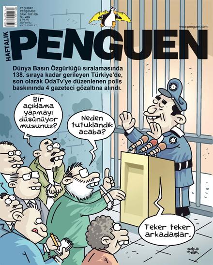 basın özgürlüğü karikatür