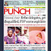 NAIJA NEWSPAPERS: TODAY'S THE PUNCH NEWSPAPER HEADLINES [15 NOVEMBER, 2017].