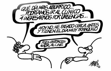 Viñeta humor Urgencias por Forges