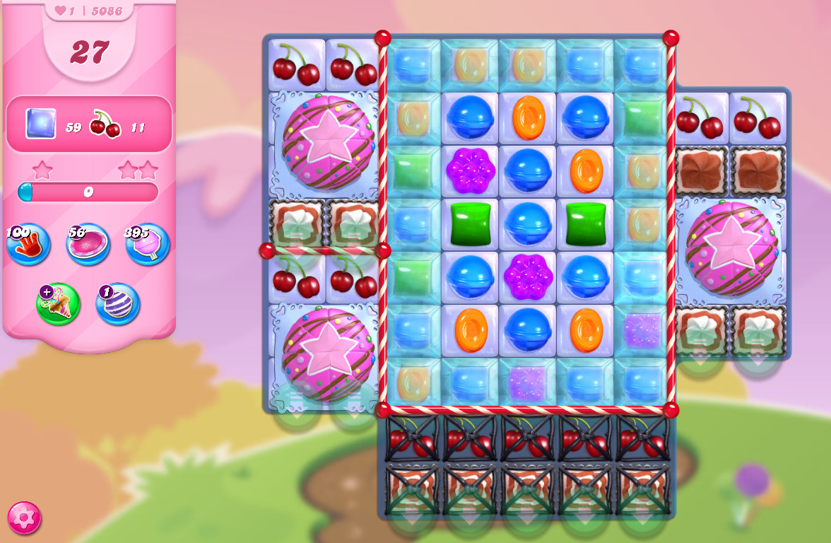 Candy Crush Saga level 5086