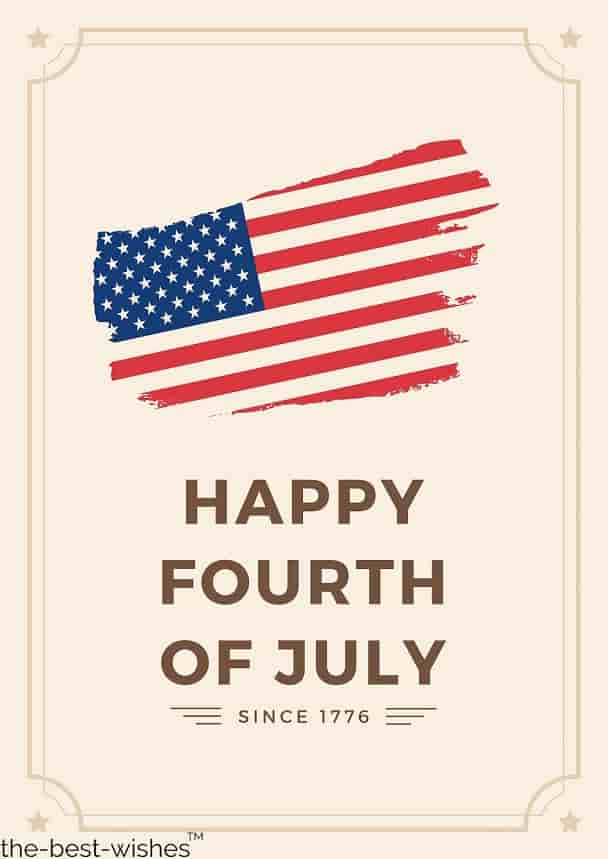 happy fourth of july since 1776