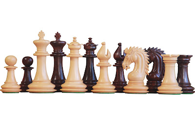 Sheffield Rosewood Chess Pieces